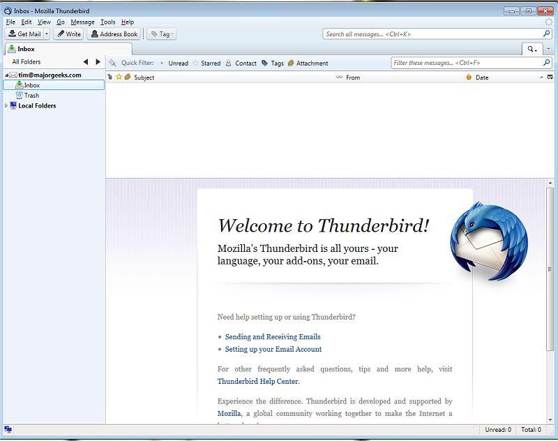 thunderbird 52.9.0