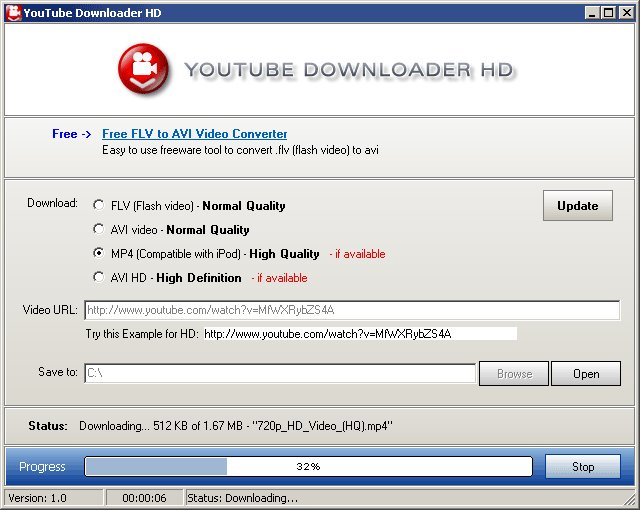 Download hd youtube downloader free 1. 0. 0. 0.