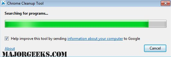 Chrome cleanup tool 23. 131. 2 download for windows / screenshots.